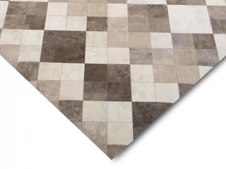 Vinyl-Bodenbelag nach Maß   Toscana Sand   Zuschnitt