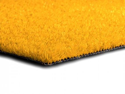 Rasenteppich Premium Color   Gelb