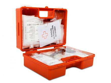 Erste-Hilfe-Koffer, klein nach DIN 13157 | für kleinere Betriebe