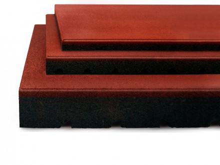 Fallschutzmatte rot