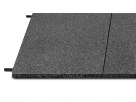 Fallschutzplatte 100x50 cm grau