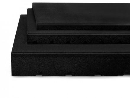 Fallschutzmatte schwarz