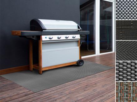 Grillschutzmatte | Schwer entflammbar | 5 Designs | 2 Größen