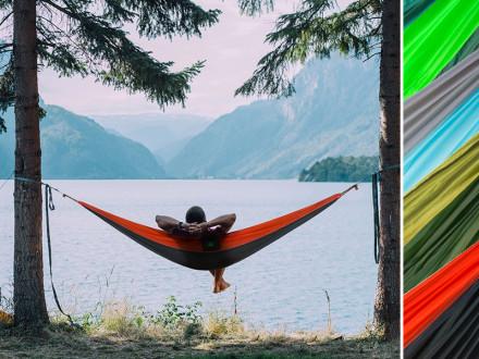 Ultraleichte Hängematte Minca | Fallschirm-Nylon | 4 Farben