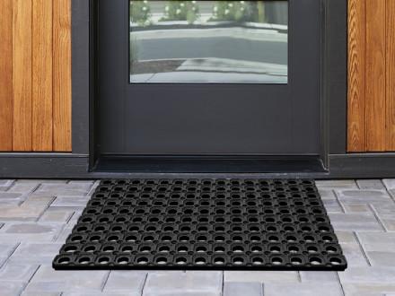 Ringgummimatte | Octo Door | Große Löcher | Stärke: 23 mm