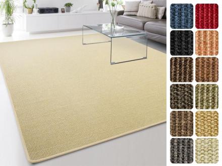 Sisal-Teppich auf Maß | Sylt ivory