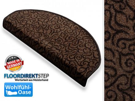 Teppich-Treppenstufen