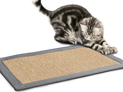 Katzenkratzteppich aus Sisal