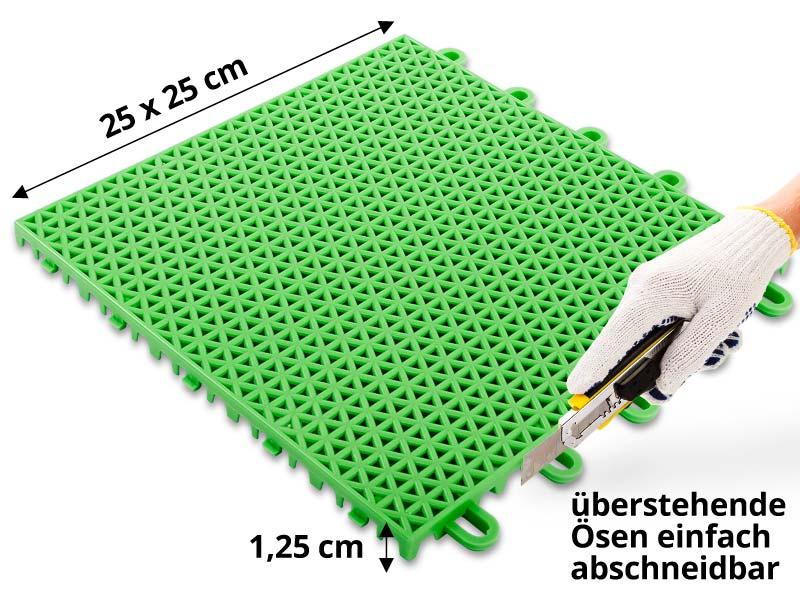 Gut bekannt Kunststoff-Fliesen farbig TH15